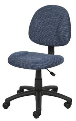 Boss Office Products B315-BE Perfect Posture Delux Fabric Ta