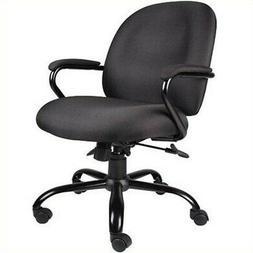 Boss Office Products B670-BK Heavy Duty Task Chair in Black