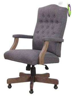 Boss Office Products B905Dw-Sg Executive Commercial Swivel C