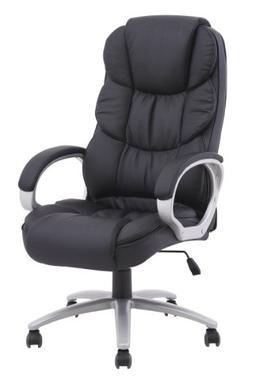 High Back Executive PU Leather Ergonomic Office Desk Compute