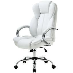 High Back PU Leather Executive Office Desk Task Computer Cha