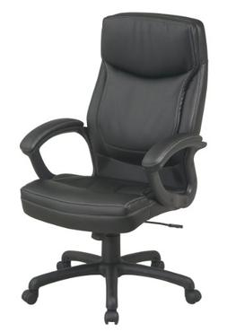 Office Star High Back Thick Padded Contour Seat and Back Eco