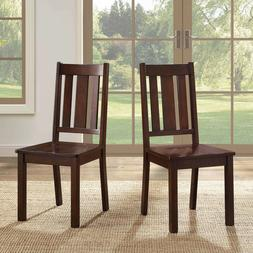 Better Homes and Gardens Bankston Mission Chairs, Set of 2,