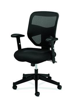 basyx by HON - VL531 High- Back Work Chair, Mesh Back, Padde