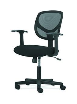 HON Sadie Swivel Mid Back Mesh Task Chair with Arms - Ergono