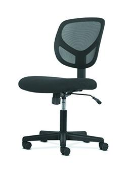 HON Sadie Swivel Mid Back Mesh Task Chair without Arms - Erg