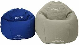 Bean Bag Chair Adult Size Classic BeanBag Personalized Embro