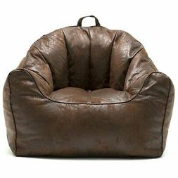 Big Joe Bean Bag Chair Refillable Lightweight Megah Filling