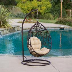 Christopher Knight Home | Outdoor Wicker Tear Drop Hanging C