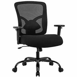 Big And Tall Office Chair Mesh Computer Ergonomic 400lbs Wid