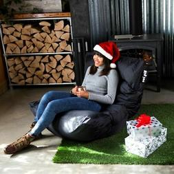 Big Joe Roma Bean Bag Chair - Color: Stretch Limo Black