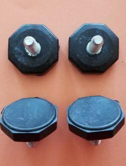 Black Adjustable Furniture Feet Table Legs Leveling Pad Cabi