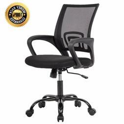 BestOffice OC-H03-Black Ergonomic Swivel Executive Adjustabl