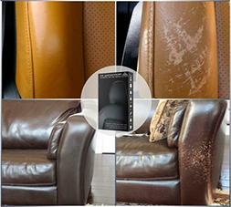 Leather Vinyl Repair Kit Filler Compound Color Restorer Furn