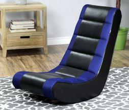 BLUE Gaming Chair For Kid Teen Video TV Movie Rocker Floor R
