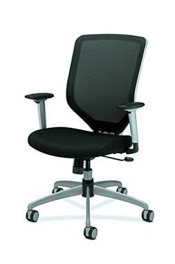 Boda Series High-Back Work Chair, Padded Mesh Seat, Mesh Bac