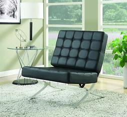 Brand New Coaster Home Furnishings Accent Chair, Black/Black