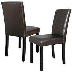 Brown Furniture Urban Style Solid Wood Leatherette Padded Pa