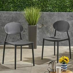 Brynn Outdoor Plastic Chairs