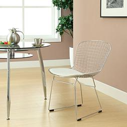 CAD Dining Side Chair in White