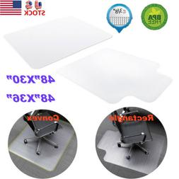 Chair Floor Mat Carpet Protector Rug PVC Plastic for Floor H