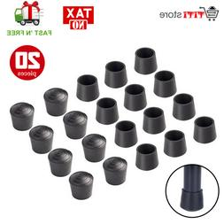Bestsupplier Chair Leg Tips Caps 7/8 inch Rubber Table Chair
