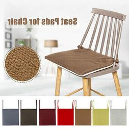 Chair Seat Tie On Pad Cushion Garden Home Kitchen Room Offic