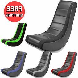 Classic Rocker Gaming Chair Video Entertainment Seat Home Ga