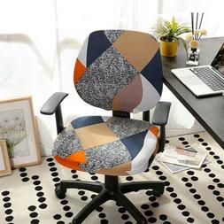 Computer Swivel Chairs Covers Universal Stretch Floral Offic