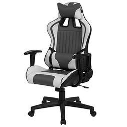 Flash Furniture Cumberland Comfort Series High Back Gray and