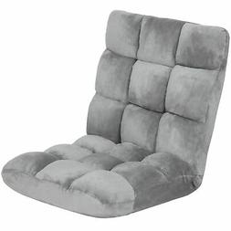 Best Choice Products Cushioned Floor Gaming Sofa Chair Foldi