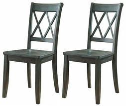 Ashley D540-101 Mestler Dining Room Side Chair - Antique Blu
