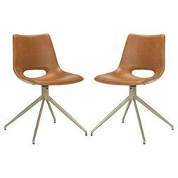 Safavieh Danube Swivel Dining Chair - Set of 2