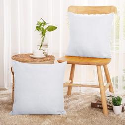 Deconovo Decorative Faux Linen Throw Pillow Case Cushion Cov