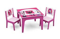 Delta Children Deluxe Table & Chair Set with Storage, Disney