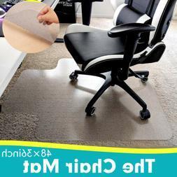 Desk Chair Mat for Carpet- Pile Carpet Floor Protector Home