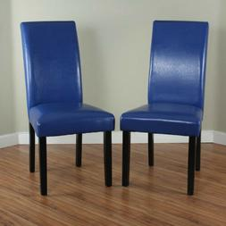 Dining Chairs Set 2 Piece Upholstered Kitchen Furniture Mode