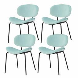 Dining Chairs Set of 4 Velvet Living Room Side Chair Modern