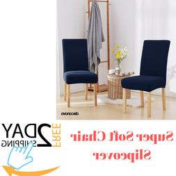 Dining Room Chair Covers Deconovo Super Soft Chair Slipcover