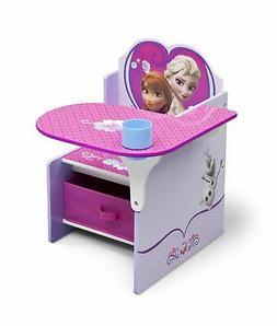 Disney Frozen Chair Desk with Storage Bin