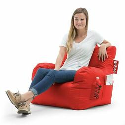 Swell Big Joe Dorm Chair Flaming Red By Big Pabps2019 Chair Design Images Pabps2019Com