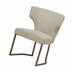 Rivet Dunford Modern Kitchen Dining Chair, 33 Inch Height, I