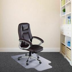 Durable Clear Plastic Home Office Chair Mat w/Strong Grip fo