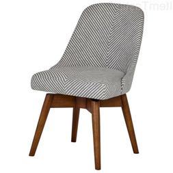 """Rivet Edgemont Contemporary Office Chair, 24""""H, Swivel, Zebr"""