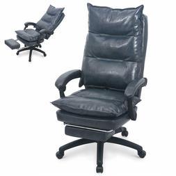 Ergonomic Executive PU Leather Home Office Desk Sofa Chair R