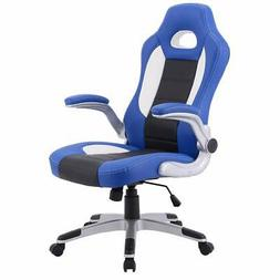 Giantex Ergonomic Gaming Chair High Back Leather Computer Ex