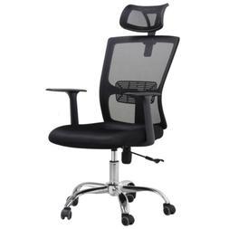 Ergonomic Mesh Office Chair Computer Desk Task Chair w/ Lumb