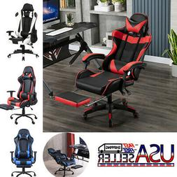 Ergonomic Office Chair Gaming Chair Recliner Racing Swivel T