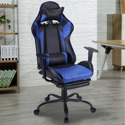Ergonomic Office Gaming Chair Racing Recliner Bucket Seat Co