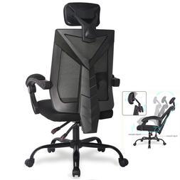 Home Office Ergonomic High Back Mesh Chair Reclining Swivel
